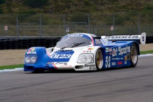 1989 Porsche 962C driven by Chip Conner.