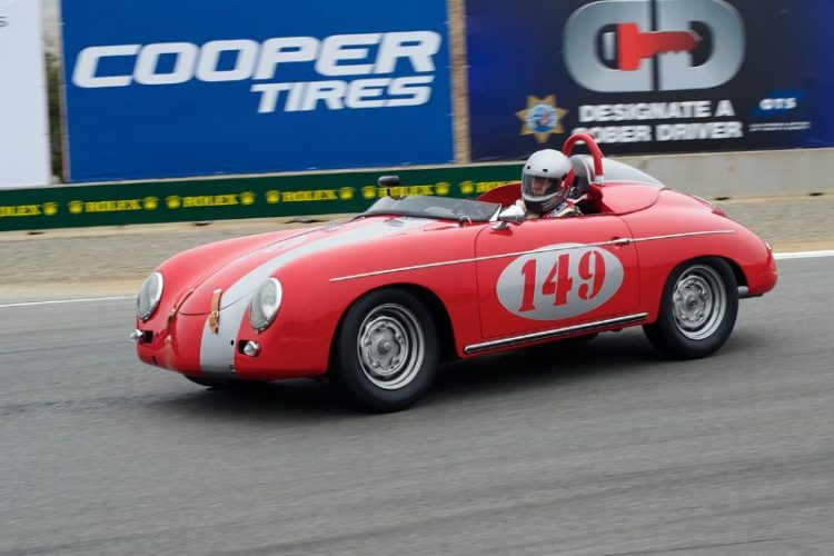 Leonard Tumbeaugh got group 4B second place in his 1958 Porsche