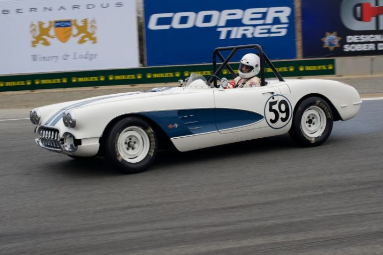 1959 Chevrolet Corvette of Ron Cressey finished second in group 4B.