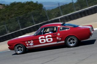 Mark Cane's 1966 Shelby GT 350.
