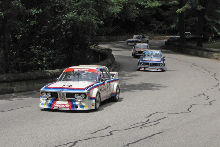 Pair of BMW CSLs lead all BMW race