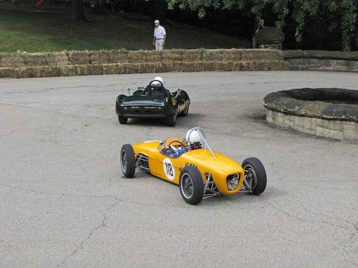 1959 Lotus 18 Formula Junior and 1956 Lotus XI