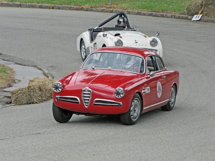 1956 Alfa Romeo Giulietta Sprint and 1959 Triumph TR3