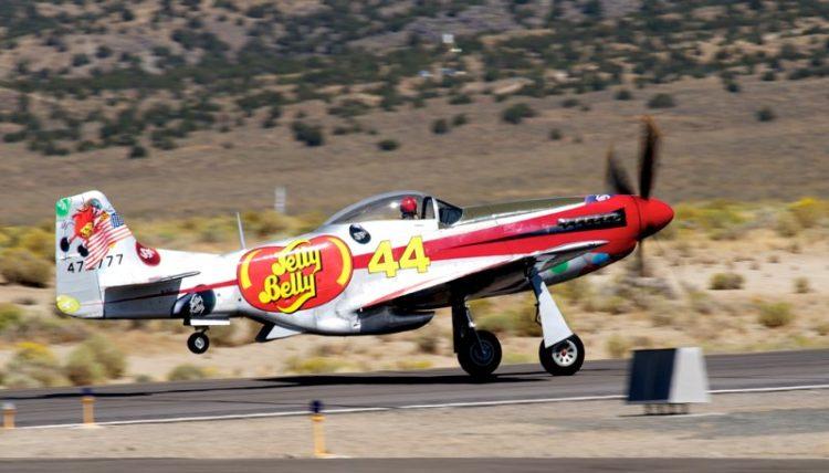 Unlimited. P-51D, Sparky. Brant Seghetti.