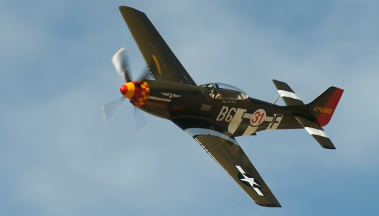 Unlimited. P-51D Mustang, 'Speedball Alice'. Rob Gordon.