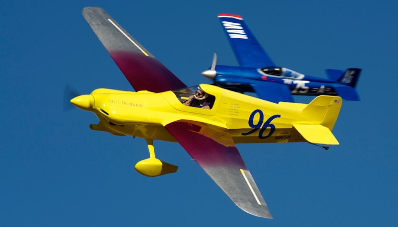 F-1. #96 Miss Demeanor and #75 Knotty Girl Tribute.
