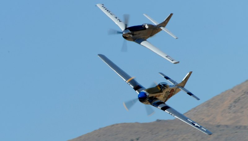 Unlimited. Two P-51s.
