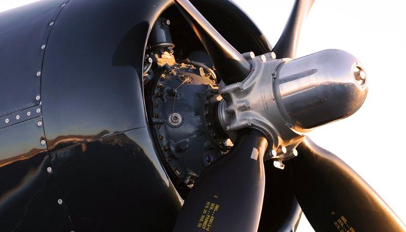 Corsair. F4U-4.
