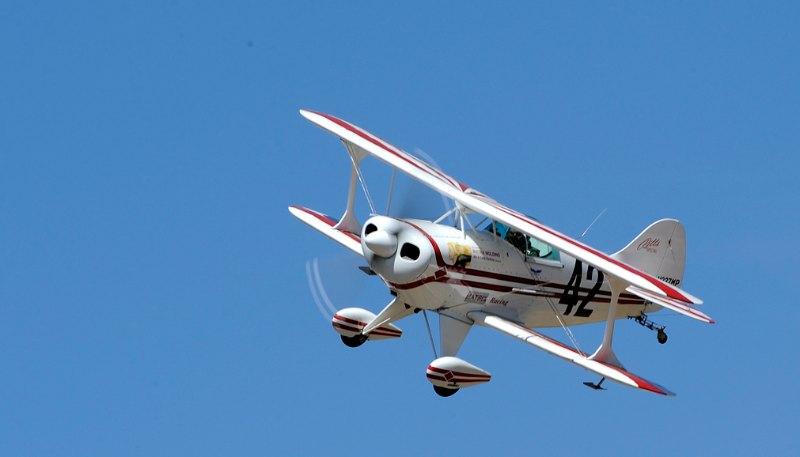 Biplane. Pitts S-1S. Earl Allen.