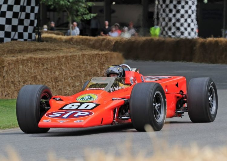 1968 Lotus 56 STP Special Turbine Engine