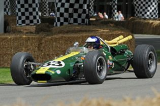 Lotus 38 that Jim Clark drove to second place in the 1966 race