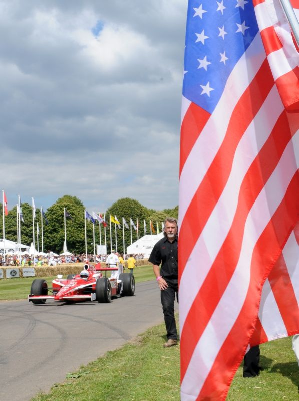 Indy 500 Celebration at Goodwood Festival of Speed 2011