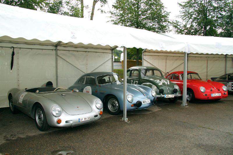 Porsche paddock