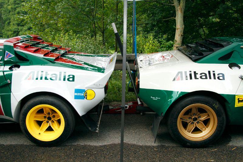 Pair of Lancia Stratos Rally