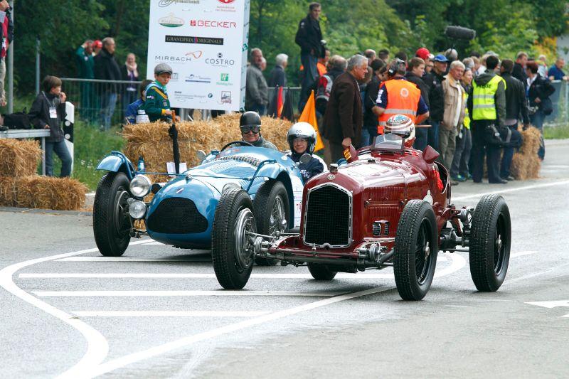 1932 Alfa Romeo P3 and 1948 Talbot-Lago Type 26 Course