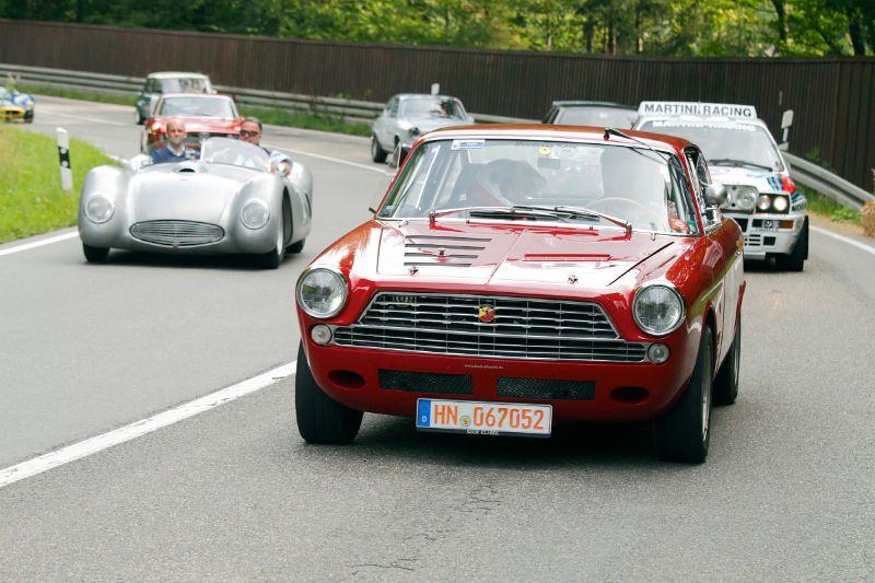 1963 Fiat-Abarth 2300 S and 1954 Veritas Stromlinie
