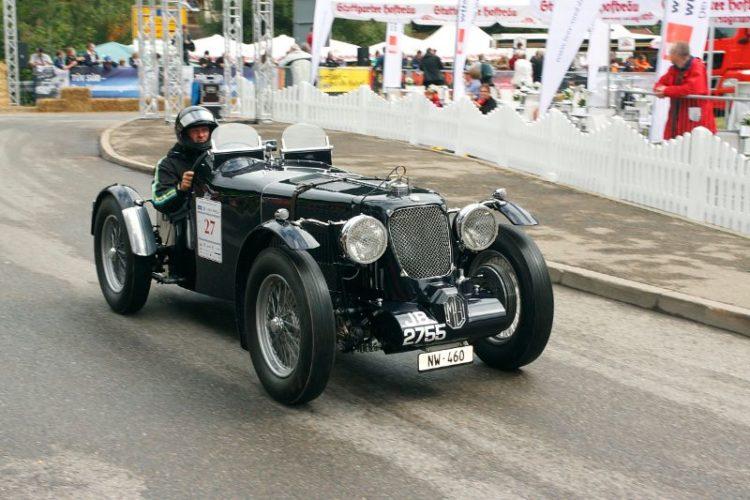 1936 MG N Magnette
