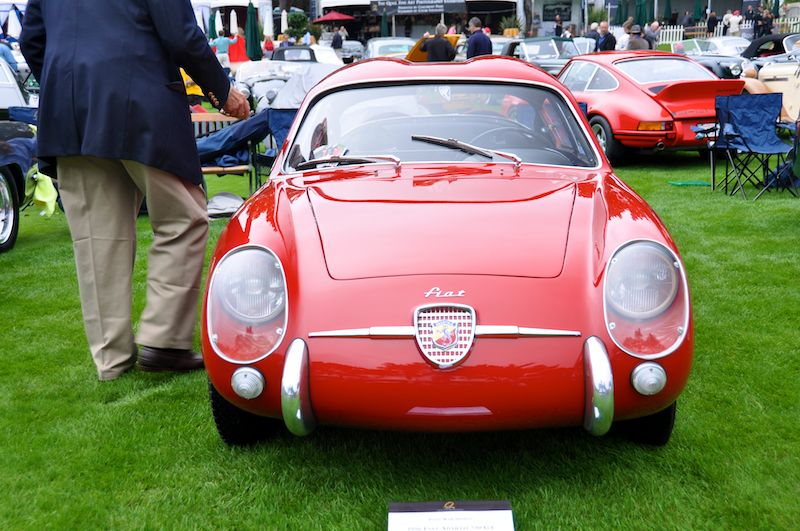 1956 Fiat Abarth 750 GT Zagato Double Bubble Coupe, Linda Strand