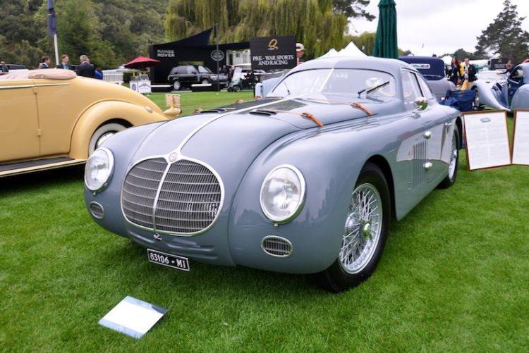 1942 Alfa Romeo 6C 2500 SS, Richard Mattei