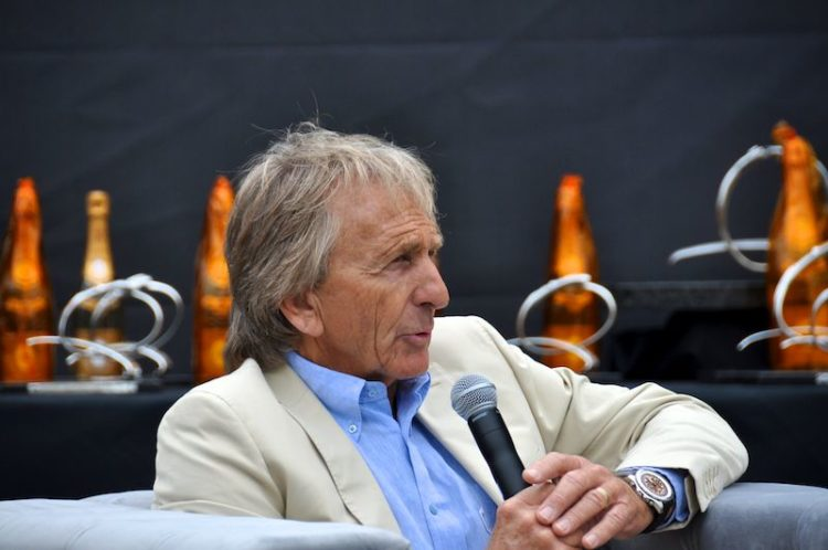 Derek Bell honored at Quail Motorsports Gathering 2011