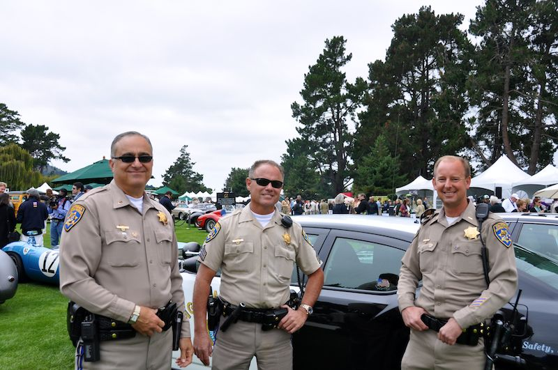 CHP provides support for Jaguar Racing Car Parade