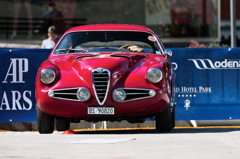 1955 Alfa Romeo 1900 SS Zagato