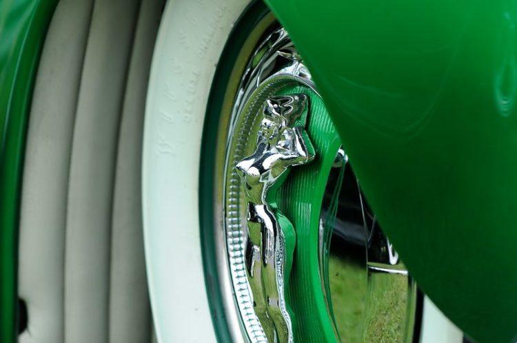 Detail 1946 Ford Custom Coupe, Deborah Becker.