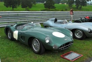 Aston Martin DBR-1 of the Simeone Collection.