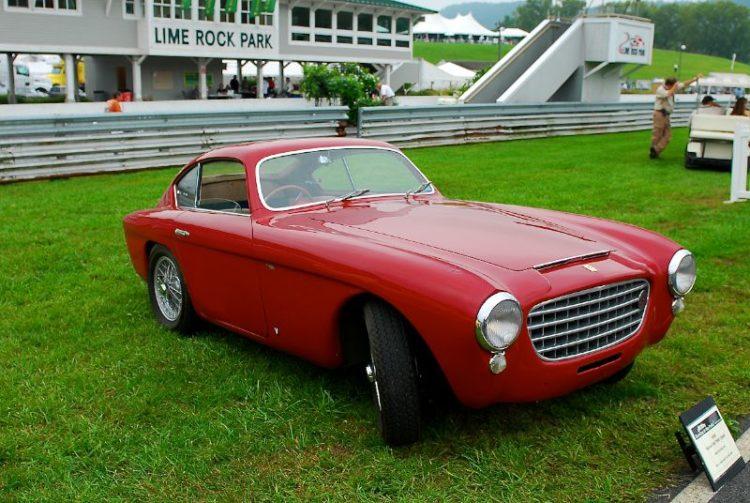 Mitch Eitel's 1950 Ferrari 166 MM Coupe.