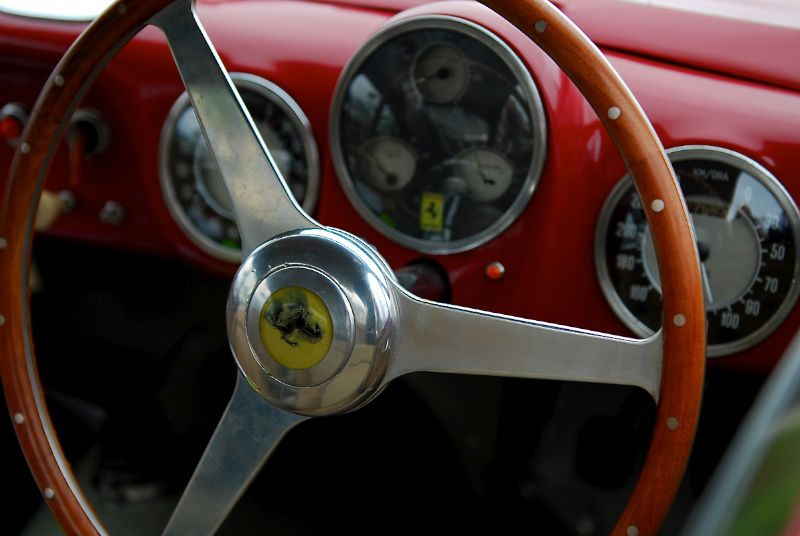 Mitch Eitel's 1950 166 MM Coupe.
