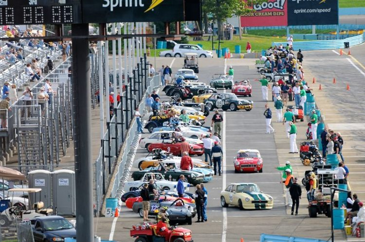 27th SVRA Collier Cup Race for MG's grids.