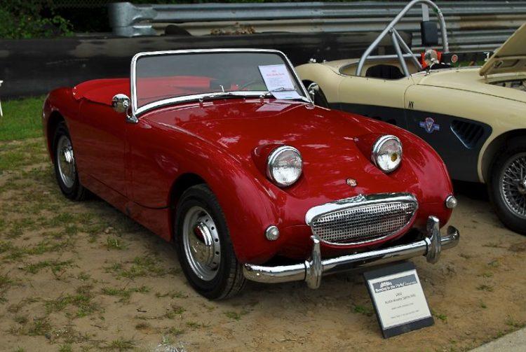 "Robert Scalia, 1960 Austin-Healey ""Bugeye"" Sprite Mk1."