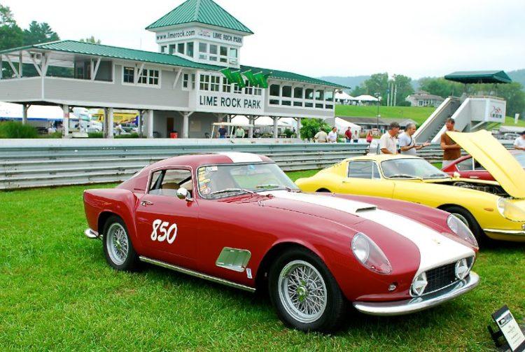 """1959 Ferrari 250 GT """"TDF""""- Bruce Male."""