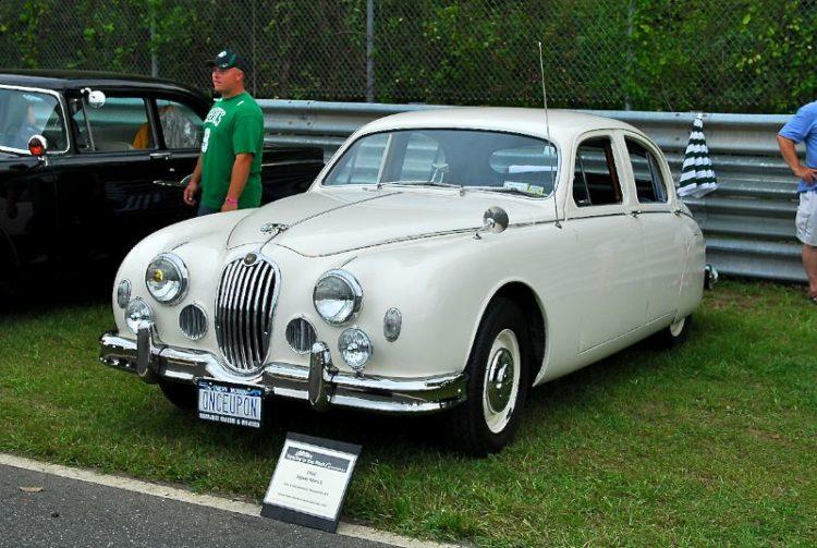 1956 Jaguar Mk1 Allen & Jane Berbstein.