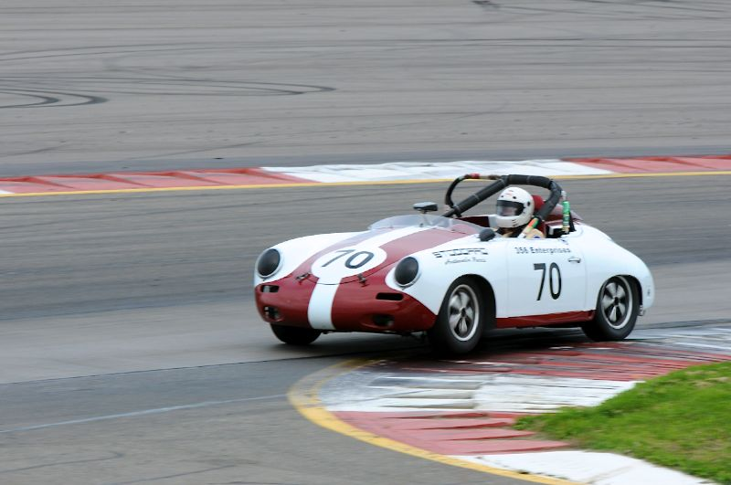 1961 Porsche 356B Roadster- Vic Skirmants.