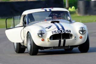 1963 AC Cobra Le Mans Coupe - Carlos Monteverde and Jackie Oliver