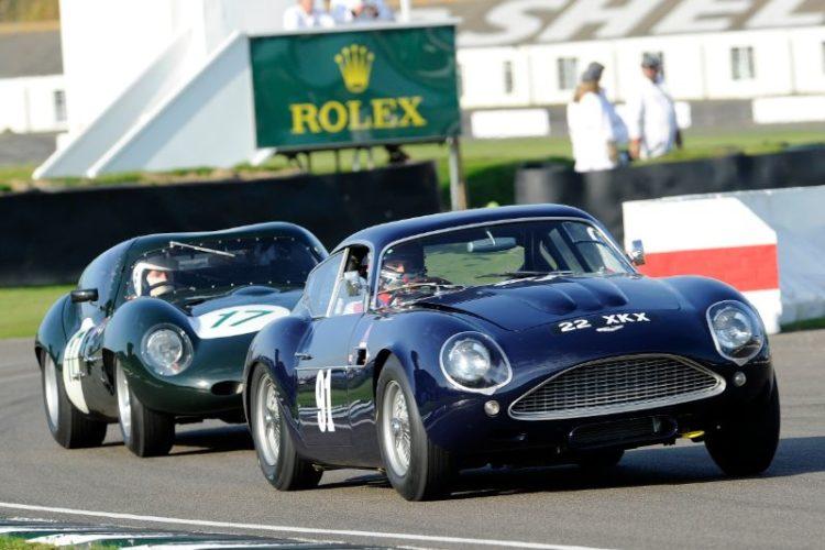 1960 Aston Martin DB4GT Zagato - Matthew Draper and Marino Franchitti