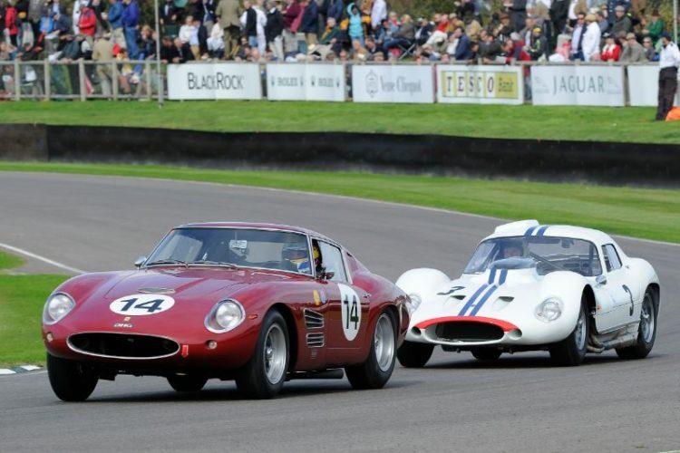 1960 Ferrari 250 GT Drogo - David Hart and Michael Bartels and 1962 Maserati Tipo 151 - Joe Colasacco and Derek Hill