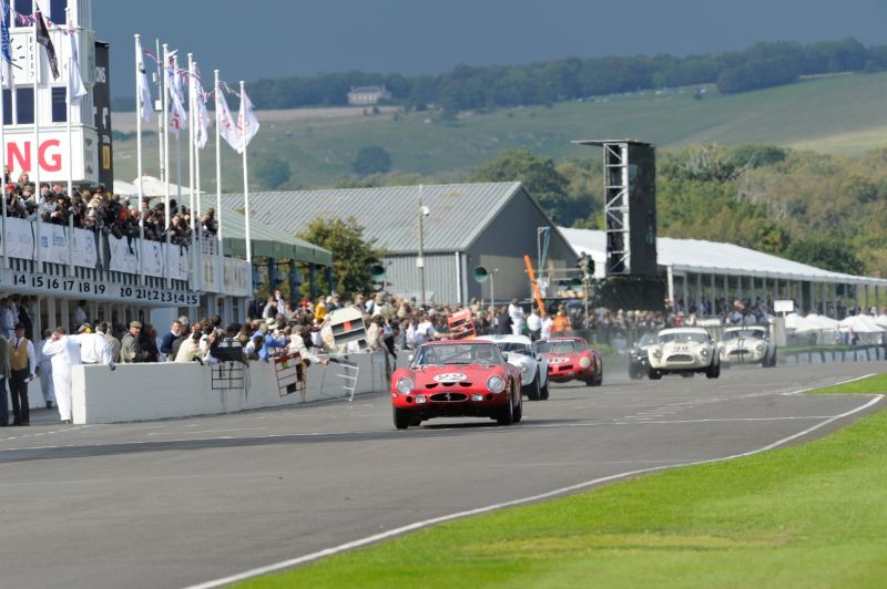 1962 Ferrari 250 GTO - Martin Brundle and Mark Hales