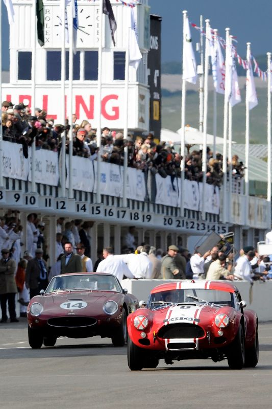 1963 AC Cobra Le Mans Coupe - Shaun Lynn and Desire Wilson