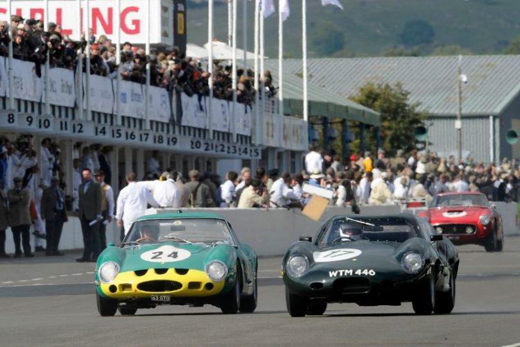 1962 Ferrari 250 GTO - Joe Bamford and Alain de Cadenet and 1962 Lister-Jaguar Coupe - Richard Attwood and Andrew Frankel