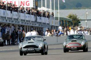 1960 Aston Martin DB4GT - Paul Drayson and Darren Turner and 1960 Aston Martin DB4GT - Tiff Needell and Tarek Mahmoud