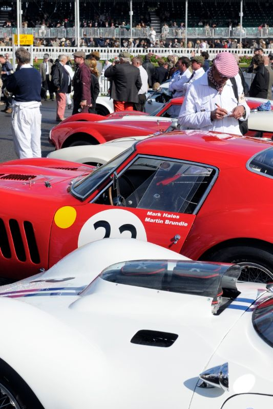 1962 Maserati Tipo 151 - Joe Colasacco and Derek Hill and 1962 Ferrari 250 GTO - Martin Brundle and Mark Hales