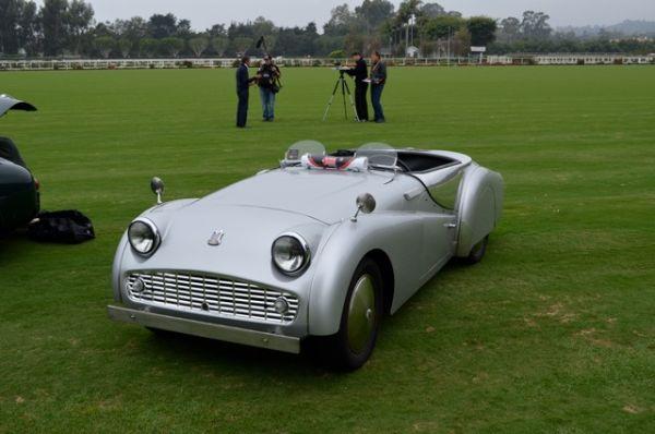 1958 Triumph TR3A - Mille Miglia North American Tribute 2011