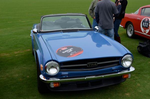 Triumph TR6 Support Car - Mille Miglia North American Tribute 2011