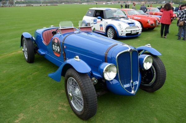 1935 Delahaye 135/138 Coupe des Alpes - Mille Miglia North American Tribute 2011