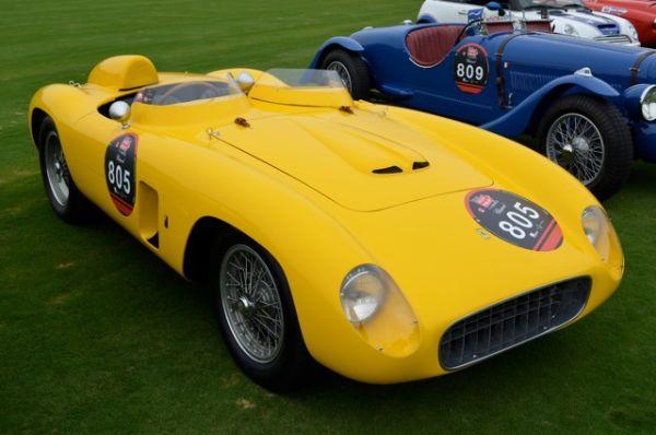 1956 Ferrari 500 TR - Mille Miglia North American Tribute 2011