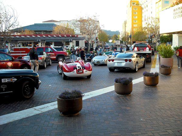 1957 Ferrari 500 TRC - Mille Miglia North American Tribute 2011