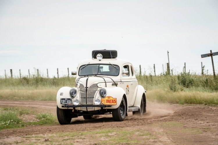 Car 18 Peter Thornton(GB) / David Garrett(GB)1939 - Ford Coupe, Rally of the Incas 2016, Rally of the Incas 2016. Day 01 Buenos Aires - Mar del Plata