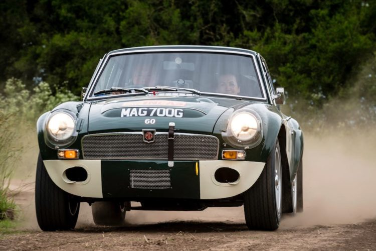 Car 60 Andrew Long(GB) / Gina Long(GB)1968 - MGC GT, Rally of the Incas 2016